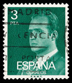 Spanish post stamp — 图库照片