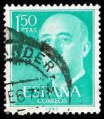 Spanish post stamp — Stock Photo