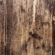 Old scratched oak table top — Stock Photo