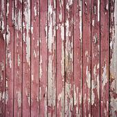 Pelling paint on wood — Stock Photo