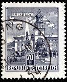 Sello de correos austríaca — Foto de Stock