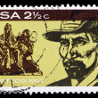 Stock Photo: Post stamp from South AfricRepublic
