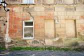 Aged street wall — Stock Photo