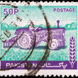 Post stamp from Pakistan — ストック写真