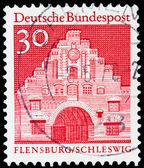 German post stamp — Stock Photo