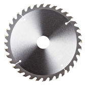 New circular saw blade — Stock Photo