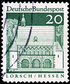 Sello de correos alemán — Foto de Stock