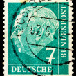 Stock Photo: Germpost stamp