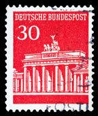 Timbro postale tedesco — Foto Stock