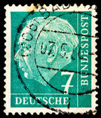 German post stamp — Stock Photo