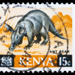 Post stamp from Kenya — Stock Photo