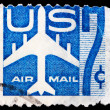American post stamp — Stock Photo #30144387