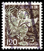Japanese post stamp — Stock Photo