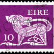 Stock Photo: Post stamp from Ireland