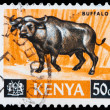 Post stamp from Kenya — 图库照片