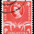 Stock Photo: Post stamp from East Africa