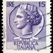 Italian post stamp — Stock Photo #31495647