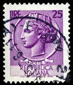 Sello de correos italiano — Foto de Stock