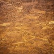 Stock Photo: Plywood painted in brown