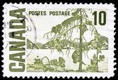 Sello de correos canadiense — Foto de Stock