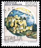 Francobollo di poste italiane — Foto Stock