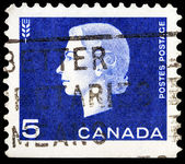 Canadian post stamp — ストック写真