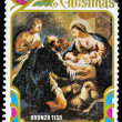 Post stamp from Dominica — Stock Photo