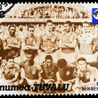 Post stamp from Tuvalu — Stock Photo