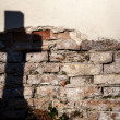 Stock Photo: Shadow of a cross