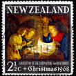 Post stamp from New Zealand — Stock Photo #35741535