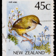 Stock Photo: Post stamp from New Zealand