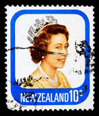 Post stamp from New Zealand — Stock Photo