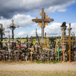 Hill of Crosses — Stock Photo