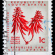 Stock Photo: Post stamp from Republic of South Africa