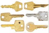 Set of old keys — Stock Photo