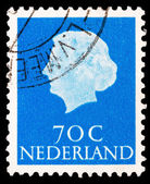 Post stamp from Netherlands — Foto Stock