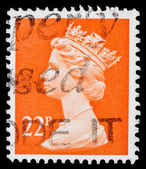 Post stamp from Great Britain    — Foto Stock