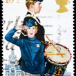 Post stamp from Great Britain — 图库照片