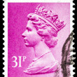Post stamp from Great Britain — Stock Photo #42614981