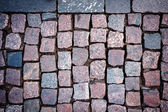 Red granite paving  — Stock Photo