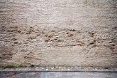 Old yellow wall — Stock Photo