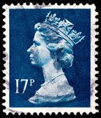 Poštovní známce z velké británie — Stock fotografie