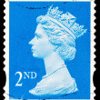 Post stamp from Great Britain — Stockfoto #44801151