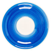 Blue plate — Stock Photo
