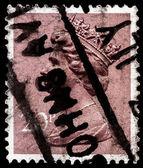Postar o selo da grã-bretanha — Foto Stock