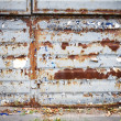 Old rusty metal wall — Stock Photo #46078155