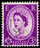Post stamp from Great Britain    — Stok fotoğraf