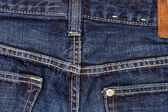 Dark jeans texture — Stock Photo