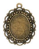 Vintage Bronze Anhänger — Stockfoto