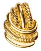 Old gold brooch  — Stockfoto